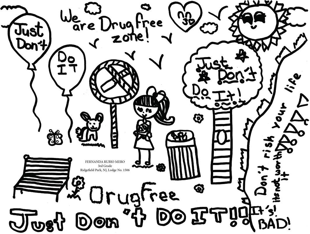 medicine safety coloring pages - photo#27